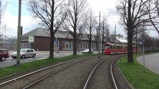 HTM trajectvideo tramlijn 9 Zwarte Pad - Zuiderpark   NSS 2014 afroepinfo