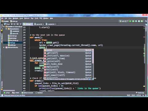 Python Web Crawler Tutorial - 17 - Running the Final Program