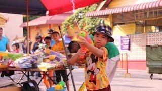 Videopostkarte - Songkran Water Festival auf Penang