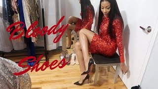 JAYLA TURNS 23: BLOODY SHOES