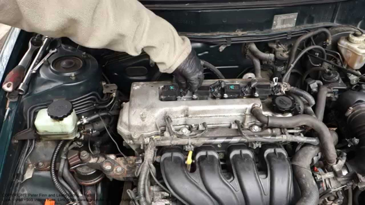 How to repair engine error failure code P0301 Toyota