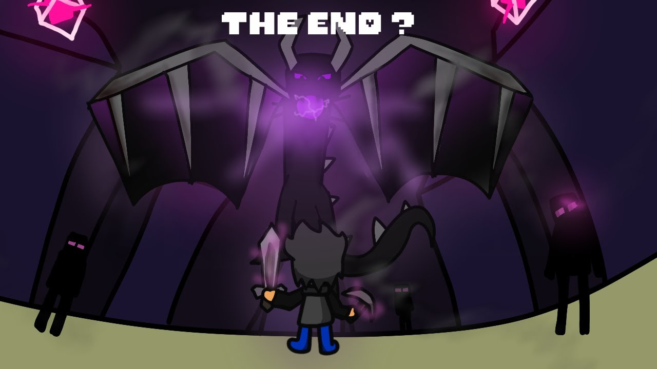 JE BAT L'ENDER DRAGON ! (the end. live best of)