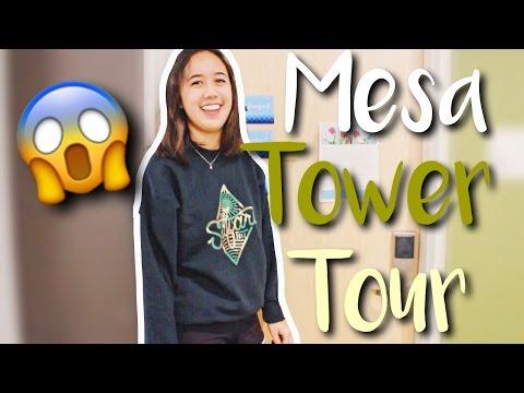 UC IRVINE MESA TOWER ROOM AND HALL TOUR 2017