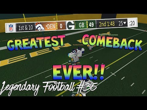 GREATEST COMEBACK EVER! [Legendary Football Funny Moments #35]