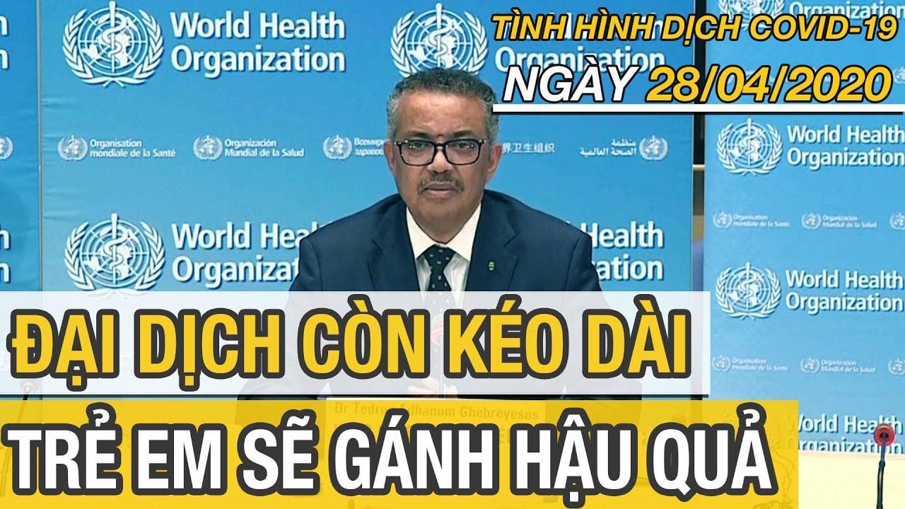 Tin tức dịch virus corona mới nhất ngày 28 tháng 4/2020 | Tin thế giới