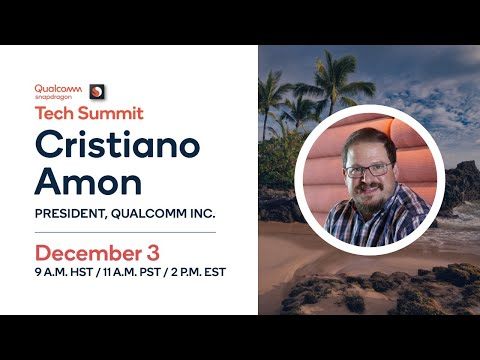 2019 Qualcomm Snapdragon Tech Summit Livestream - Day 1