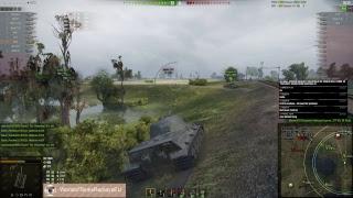 World of Tanks gameplay 19.09.2017