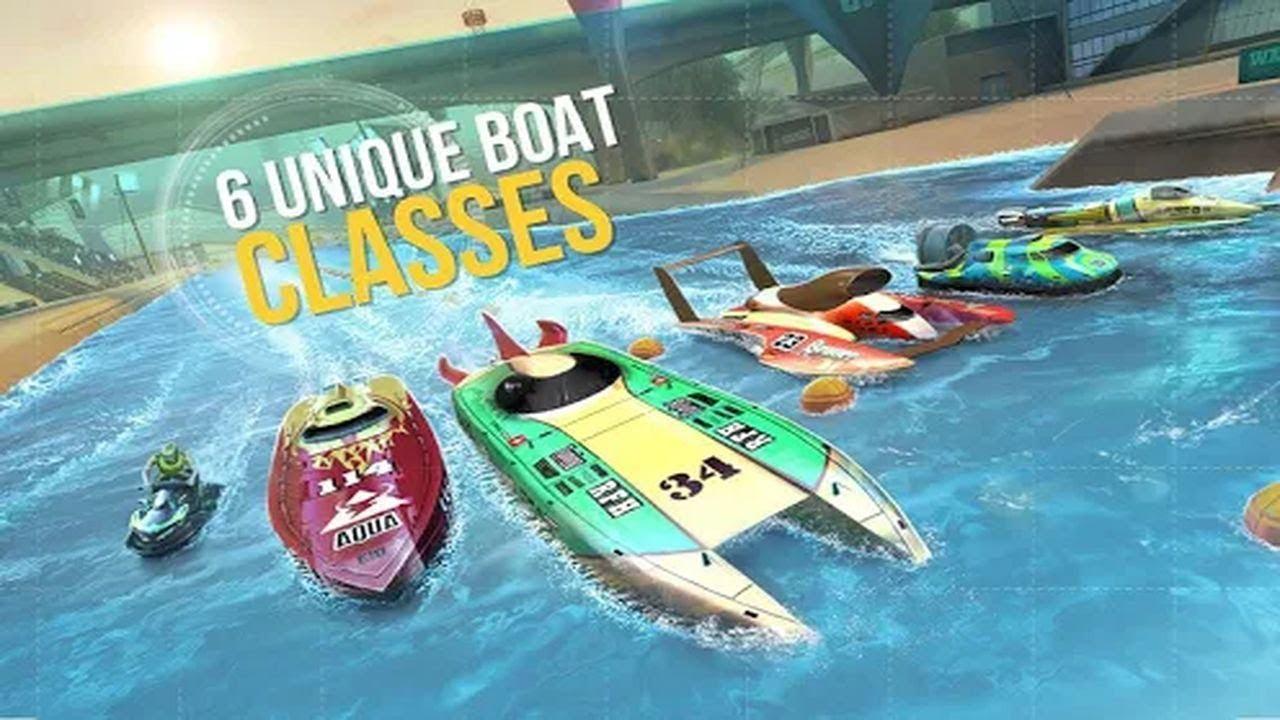 Top Boat Racing Simulator 3d Best Racing Game Drive The Fastest Ocean Powerboats