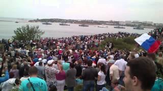 Парад Самолетов. Севастополь 9 мая 2014г.