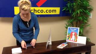 Plastic Brochure Holder /  Sign Holder Combo By Hutchco.com