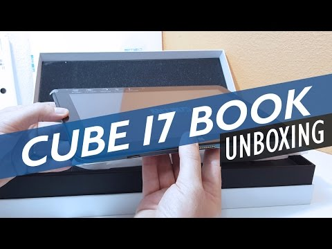 Cube i7 Book & Keyboard Unboxing - Core M3 2-in-1 with Wacom Stylus