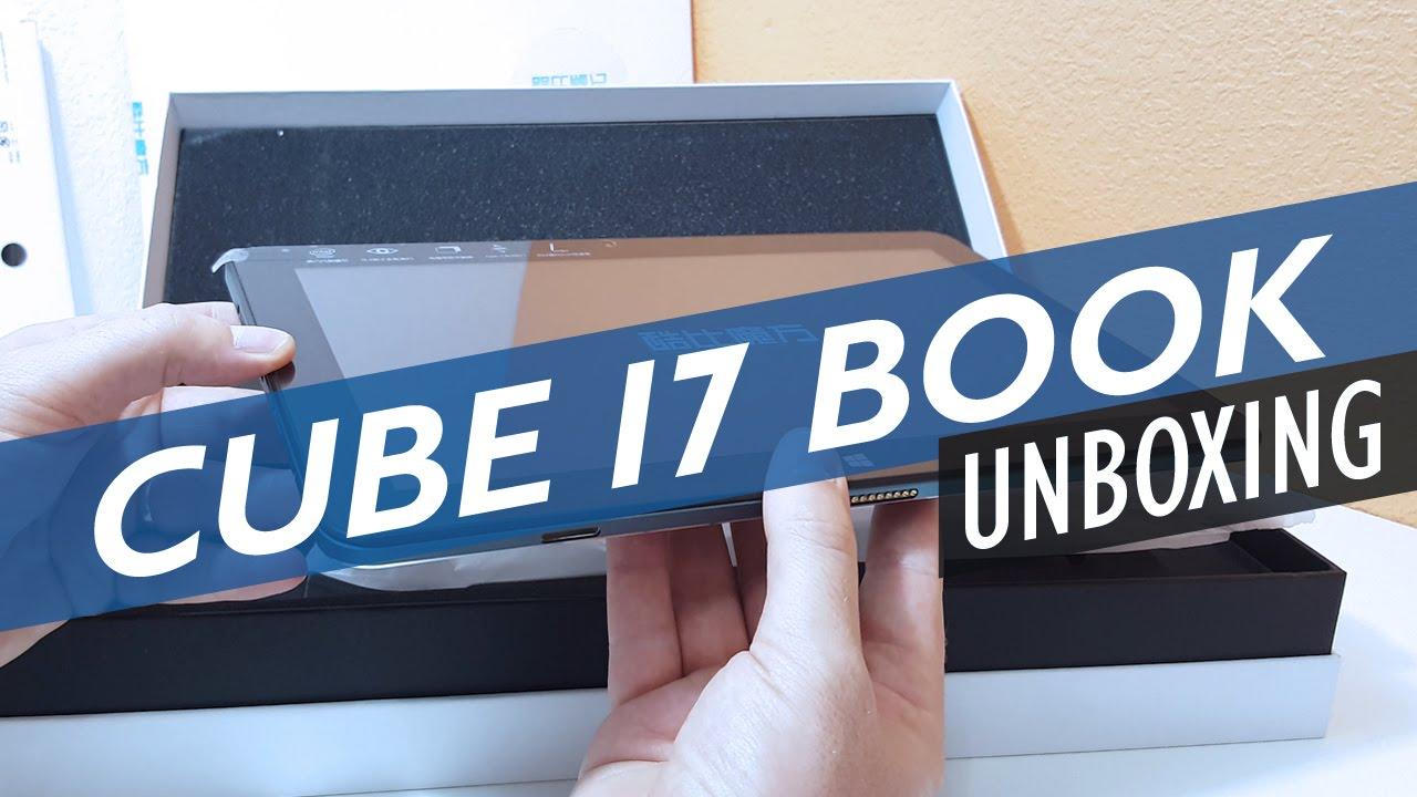 Cube i7 stylus with WACOM pen - YouTube