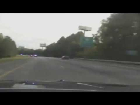 High Speed Chase of Motorcycle Ends in Crash on I-75 Georgia State Patrol