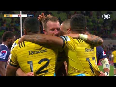 HIGHLIGHTS: 2018 Super Rugby Week 7: Rebels v Hurricanes