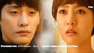 Video Insooni - Burn (ENG+Rom+Hangul SUB.) [Passionate Love OST] download MP3, 3GP, MP4, WEBM, AVI, FLV Januari 2018