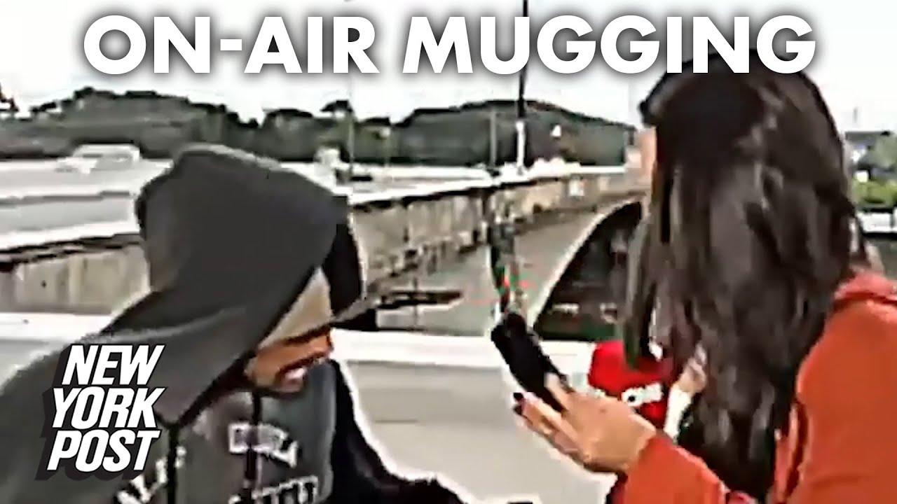 CNN reporter Bruna Macedo mugged at knifepoint live on air | New York Post