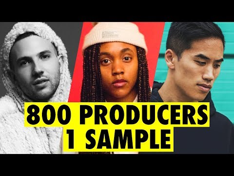 800 PRODUCERS FLIP THE SAME SAMPLE