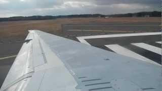 Delta Airlines MD88 Takeoff from Bradley International Airport