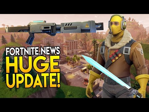 """NEXT HUGE UPDATE! """"NEW MAP, COSMETICS, MODES, WEAPONS & MORE!"""" - Fortnite Battle Royale News"""