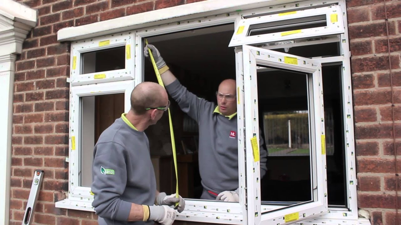 How To Install A Liniar Upvc Window Youtube
