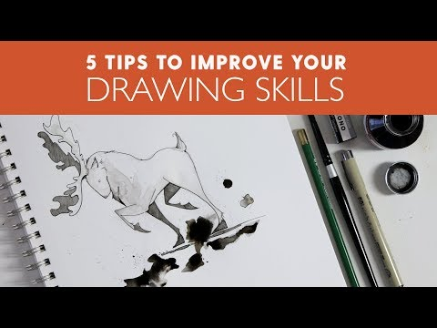 5 Drawing Tips to Improve your Art