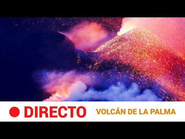 EN DIRECTO 🔴 VOLC�N en LA PALMA: Sigue la erupción declarada en la CUMBRE VIEJA (día 34)   RTVE