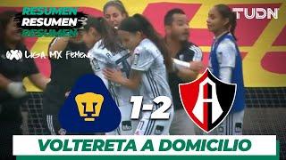Resumen y goles | Pumas Femenil 1 - 2 Atlas Femenil | Liga MX Femenil - Ap19  - J17 | TUDN