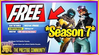 💯% WORKING SEASON 7 🌟 How To Get Fortnite Save The World For FREE (Free Save The World Glitch 7.1)