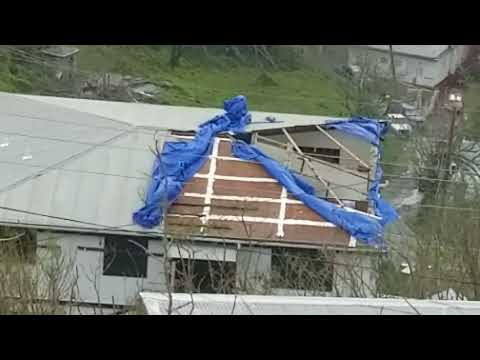 St Thomas after hurricane Maria 9/20/2017. Not as bad as Irma, but St Croix got nailed we hear.