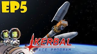 Kerbal Space Program Episode 5 // Easy now learning curve
