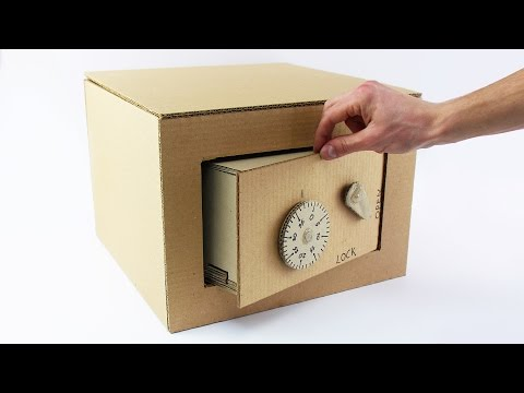 Thumbnail: How to Make Safe with Combination Lock from Cardboard