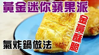 黃金蘋果批 / 業界不公開蘋果醬做法 / 一次就能成功要訣公開 / how to make mini apple pie with kid