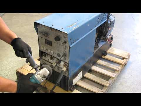 Miller Legend Gas Powered AC/DC Arc Welder Generator Onan 18hp Engine