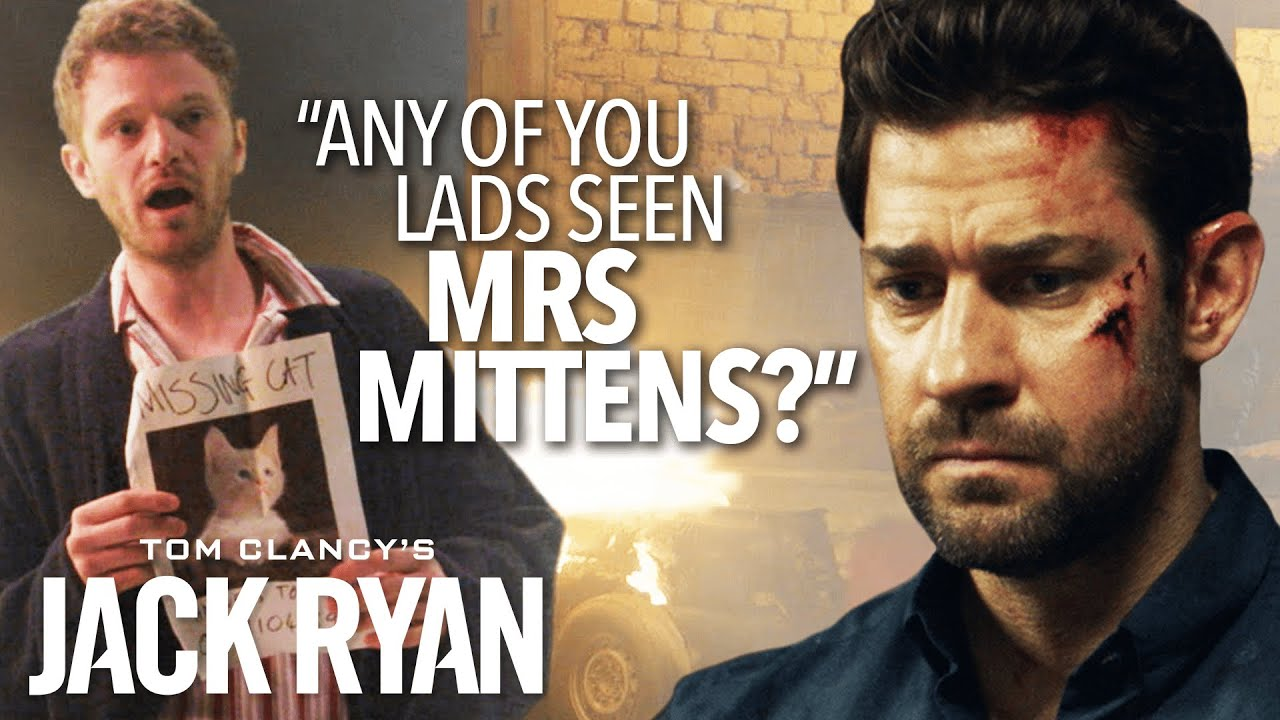 Characters That Would Have Been Cut From Jack Ryan | The Pin | Prime Video