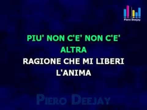 Karaoke Laura Pausini - Non c'è by Piero Deejay