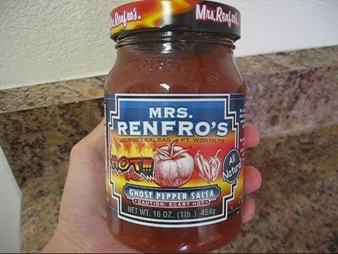 Image result for mrs renfros ghost pepper salsa