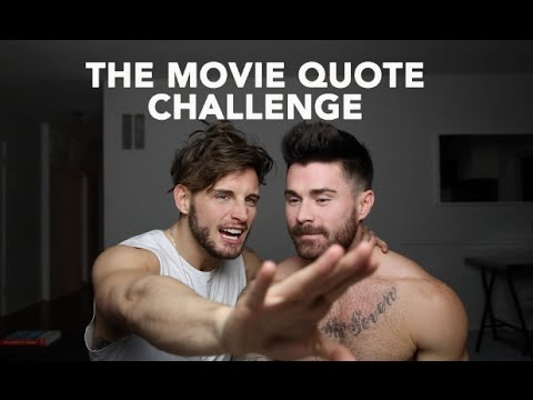 THE MOVIE QUOTE CHALLENGE  FT. NICO TORTORELLA