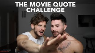 THE MOVIE QUOTE CHALLENGE | FT. NICO TORTORELLA