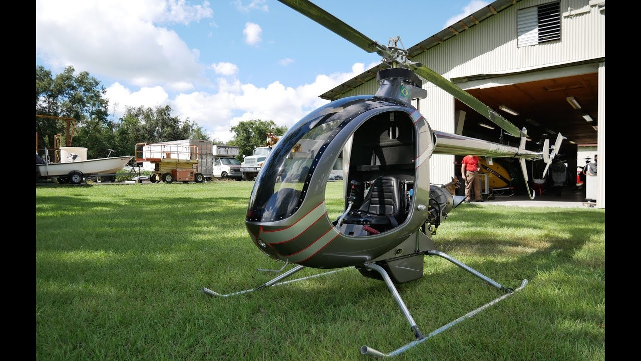 Mosquito XET Turbine  Private Helicopter For Less Than $50,000