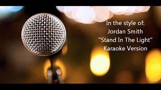 "Jordan Smith ""Stand In The Light"" BackDrop Christian Karaoke"