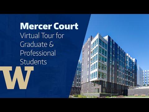 UW HFS   Mercer Court Virtual Tour For Graduate & Professional Students