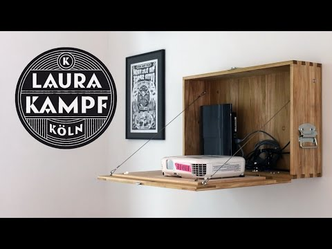 Laura´s Wooden Projector Cabinet
