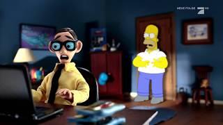 Homer auf der Suche nach dem Bild | Die Simpsons Couchgag