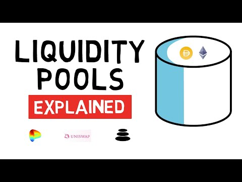 How Do LIQUIDITY POOLS Work? (Uniswap, Curve, Balancer) | DEFI Explained
