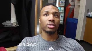 Damian Lillard on Making All-Star 2016: 'I Don't Think There Is Much Else I Can Do'