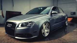 "K3 Projekt Wheels Audi A4 Bagged AKA ""livinthelowlifee"" Quicky on our IND