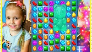 ДЕТСКАЯ ИГРА  КОНФЕТЫ РЫБКИ Candy Crush Soda Saga Android Gameplay Gummy Bears Android / iOS