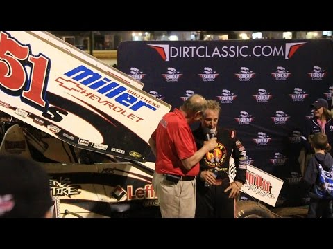 9.24.16 - Dirt Classic at Lincoln Speedway - Stevie Smith wins