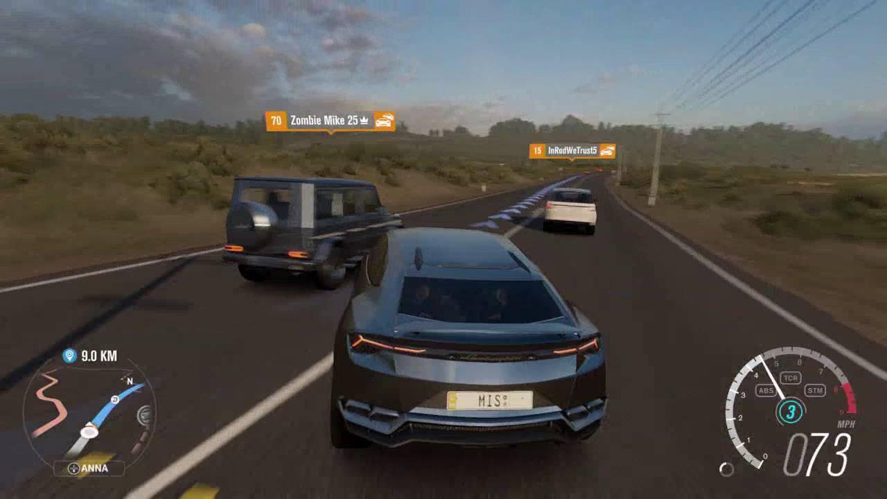 forza horizon 3 how to stop convoy
