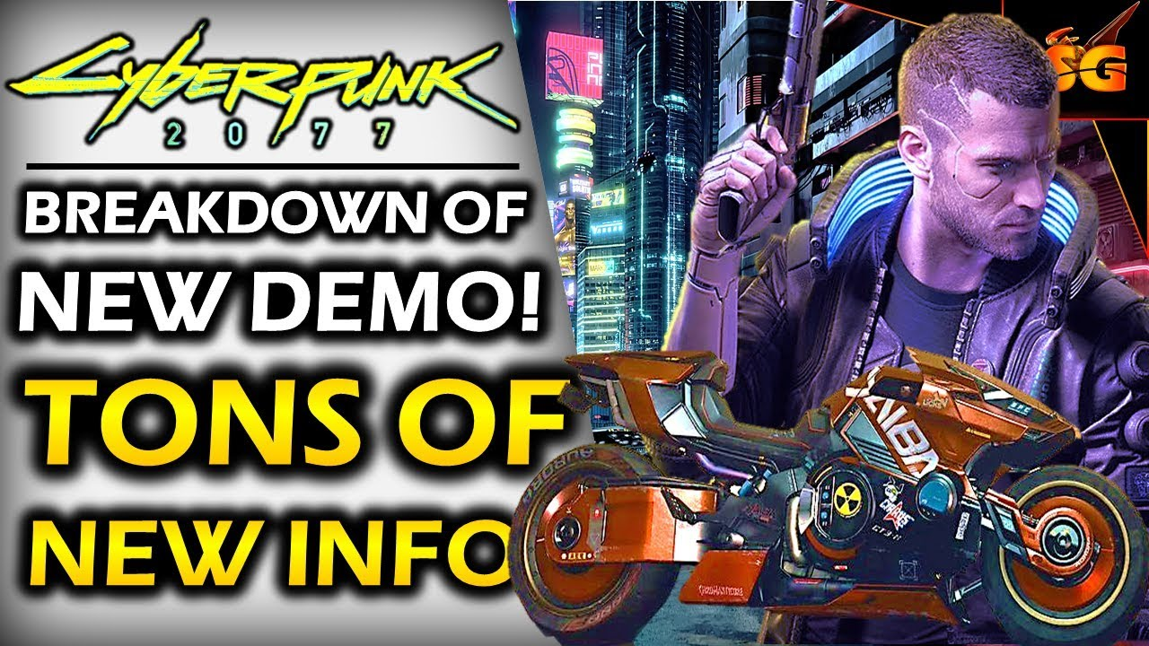 CYBERPUNK 2077 | HUGE NEWS! NEW DEMO DETAILS BREAKDOWN! Hacking, Skills, Upgrades, Akira & More! thumbnail